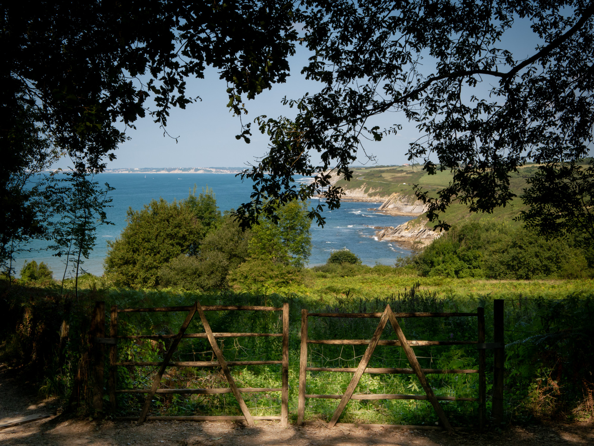 Parc du chteau-observatoire Abbadia, Hendaye, France - Pays Basque, France & Espagne