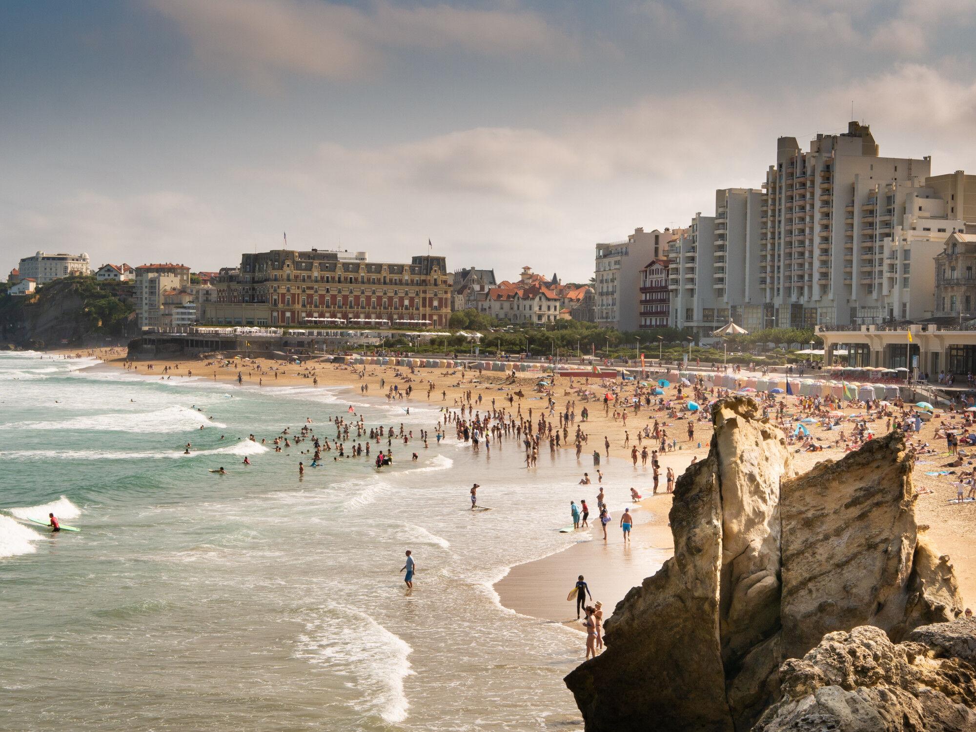 Biarritz, France - Pays Basque, France & Espagne