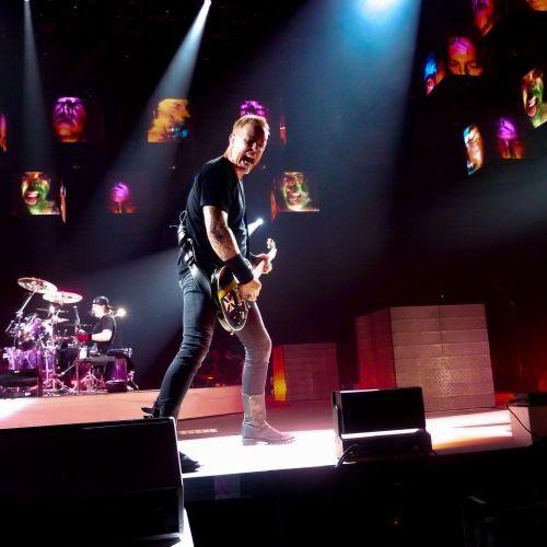 Metallica, James Hetfield - Metallica, concert  Lyon