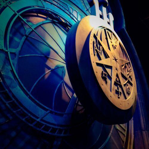 Pendule de Poudlard - Studios Harry Potter  Londres
